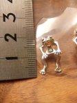 画像7: 立体カエル ピアス(Silver925) (7)
