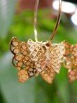 画像4: 立体 蝶々フープピアス (4)